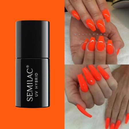 Semilac - gél lak 045 Electric Orange 7ml NechtovyRAJ.sk - Daj svojim nechtom všetko, čo potrebujú