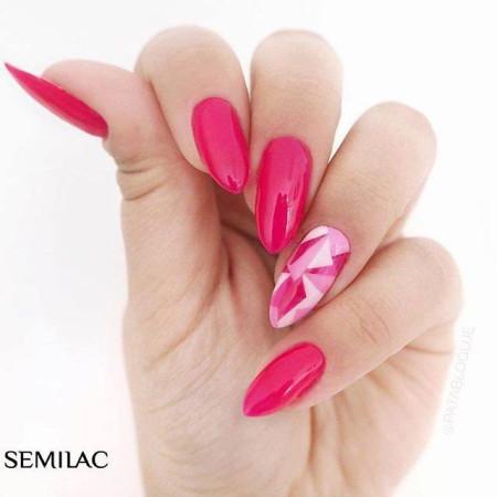 Semilac - gél lak 517 Neon pink 7ml