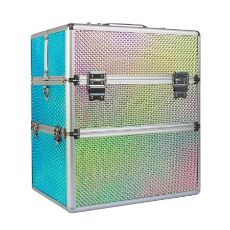 Dvojdielny kozmetický kufrík - Unicorn 204-3 NechtovyRAJ.sk - Daj svojim nechtom všetko, čo potrebujú