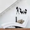 Dekoračná samolepka na stenu 43/62 NechtovyRAJ.sk - Daj svojim nechtom všetko, čo potrebujú