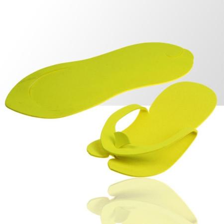 Jednorázové žabky na pedikúru žlté NechtovyRAJ.sk - Daj svojim nechtom všetko, čo potrebujú
