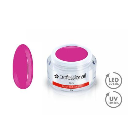 FAREBNÝ LED-UV GÉL 5ML PROFESSIONAIL™ Pink NechtovyRAJ.sk - Daj svojim nechtom všetko, čo potrebujú