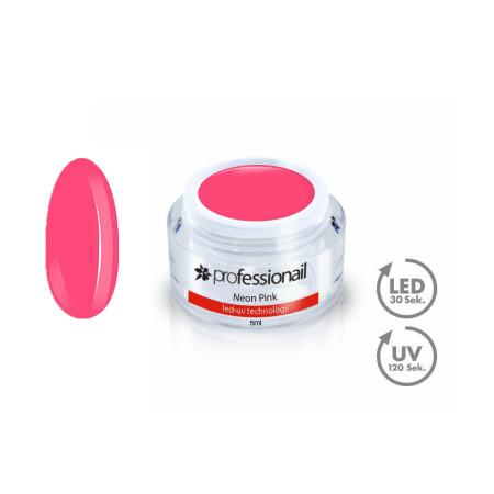 FAREBNÝ LED-UV GÉL 5ML PROFESSIONAIL™ Neon Pink NechtovyRAJ.sk - Daj svojim nechtom všetko, čo potrebujú