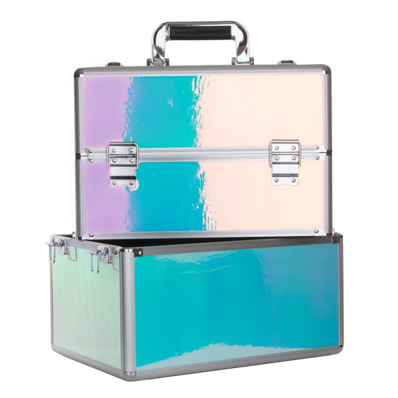 Dvojdielny kozmetický kufrík Holo 21