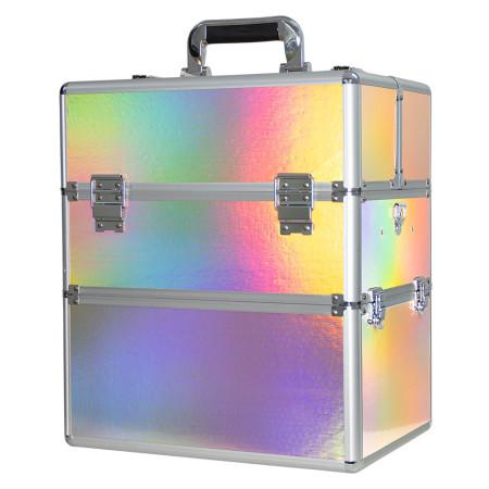 Dvojdielny kozmetický kufrík Holo 09 NechtovyRAJ.sk - Daj svojim nechtom všetko, čo potrebujú