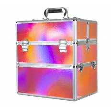 Dvojdielny kozmetický kufrík Holo 07