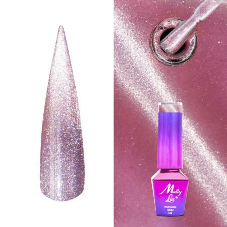 441. MOLLY LAC gél lak -Cat Eye Lipstick 5ml