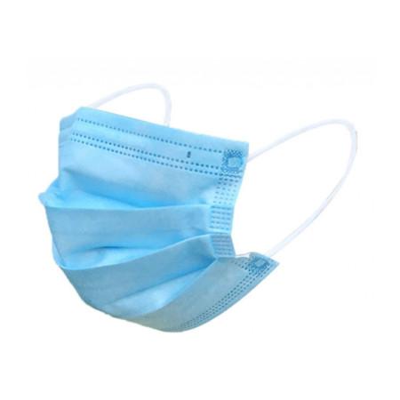 Ochranné kozmetické rúško - modré 1 ks NechtovyRAJ.sk - Daj svojim nechtom všetko, čo potrebujú