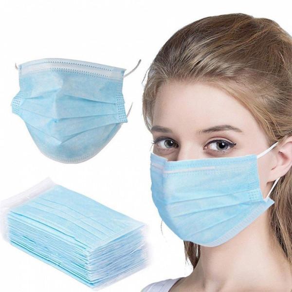 Ochranné kozmetické rúško - modré 1 ks