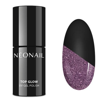 Neonail - Top Glow Sparkling 7,2 ml NechtovyRAJ.sk - Daj svojim nechtom všetko, čo potrebujú