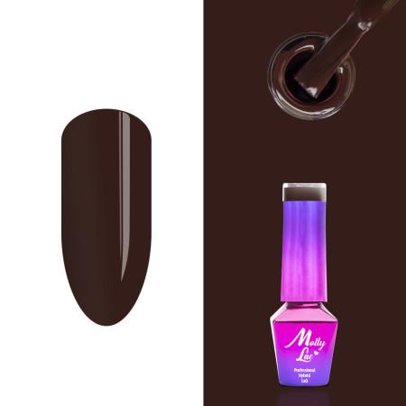 358. MOLLY LAC gél lak Choco dreams - Cocoa Cookie 5ml