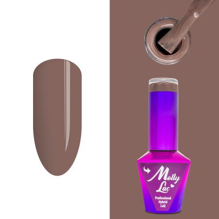 354. MOLLY LAC gél lak Choco dreams - Sticky Toffee 5ml