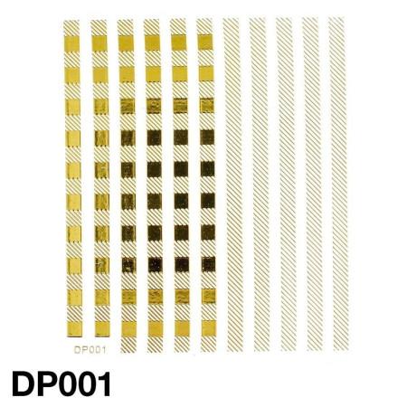Nálepky na nechty DP001 NechtovyRAJ.sk - Daj svojim nechtom všetko, čo potrebujú