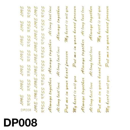 Nálepky na nechty DP008 NechtovyRAJ.sk - Daj svojim nechtom všetko, čo potrebujú
