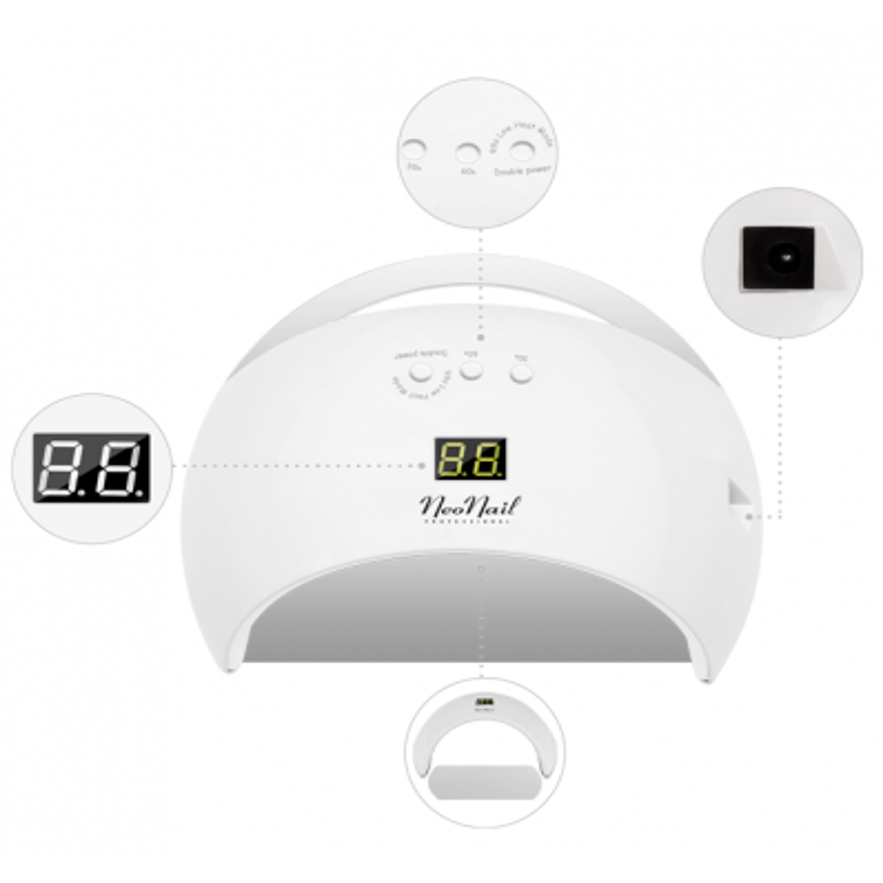 NeoNail UV/LED lampa 21/48 W biela NechtovyRAJ.sk - Daj svojim nechtom všetko, čo potrebujú