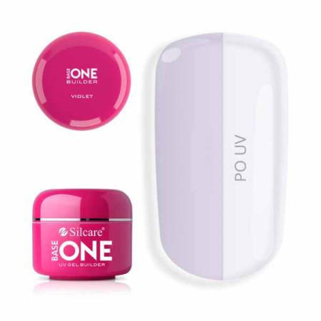 Base one UV gél clear Violet 5g NechtovyRAJ.sk - Daj svojim nechtom všetko, čo potrebujú