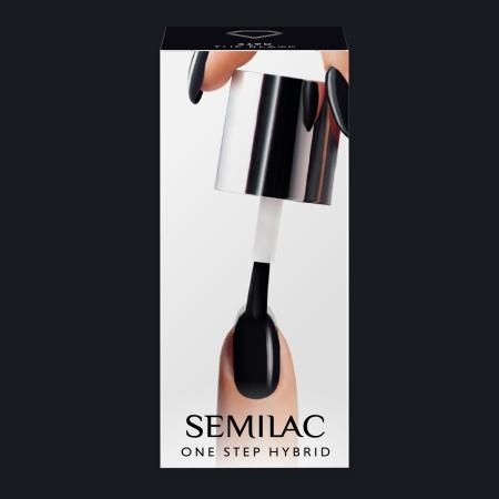 Semilac One Step gél lak S190 The Black 5ml NechtovyRAJ.sk - Daj svojim nechtom všetko, čo potrebujú