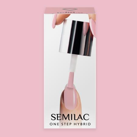 Semilac One Step gél lak S610 Barely Pink 5ml NechtovyRAJ.sk - Daj svojim nechtom všetko, čo potrebujú