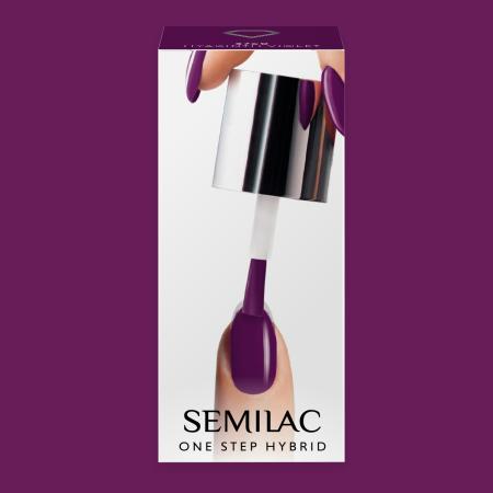 Semilac One Step gél lak S760 Hyacinth Violet 5ml NechtovyRAJ.sk - Daj svojim nechtom všetko, čo potrebujú