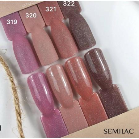 Semilac - gél lak 321 - Shimmer Dust Caramel NechtovyRAJ.sk - Daj svojim nechtom všetko, čo potrebujú