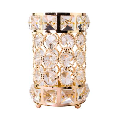 Luxusný stojan na štetce zlatý 02 NechtovyRAJ.sk - Daj svojim nechtom všetko, čo potrebujú