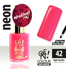 Lak na nechty-ONE COLOUR  Exclusive 42