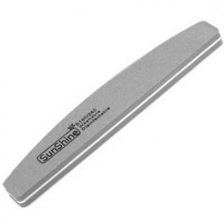 Pilník na nechty penový 180/240 lodička šedý NechtovyRAJ.sk - Daj svojim nechtom všetko, čo potrebujú