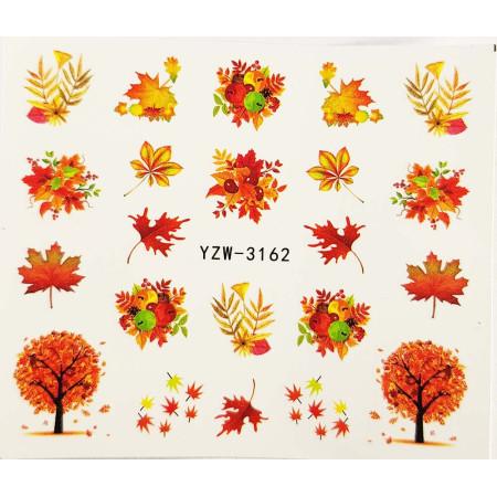 Vodonálepky na nechty jeseň YZW-3162 NechtovyRAJ.sk - Daj svojim nechtom všetko, čo potrebujú