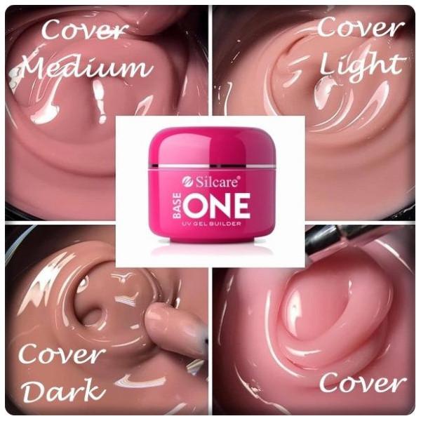 Base one UV gél Cover - kamufláž,make up 30g NechtovyRAJ.sk - Daj svojim nechtom všetko, čo potrebujú