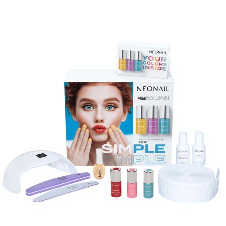 Sada na gél lak NeoNail® SIMPLE One Step PRO NechtovyRAJ.sk - Daj svojim nechtom všetko, čo potrebujú