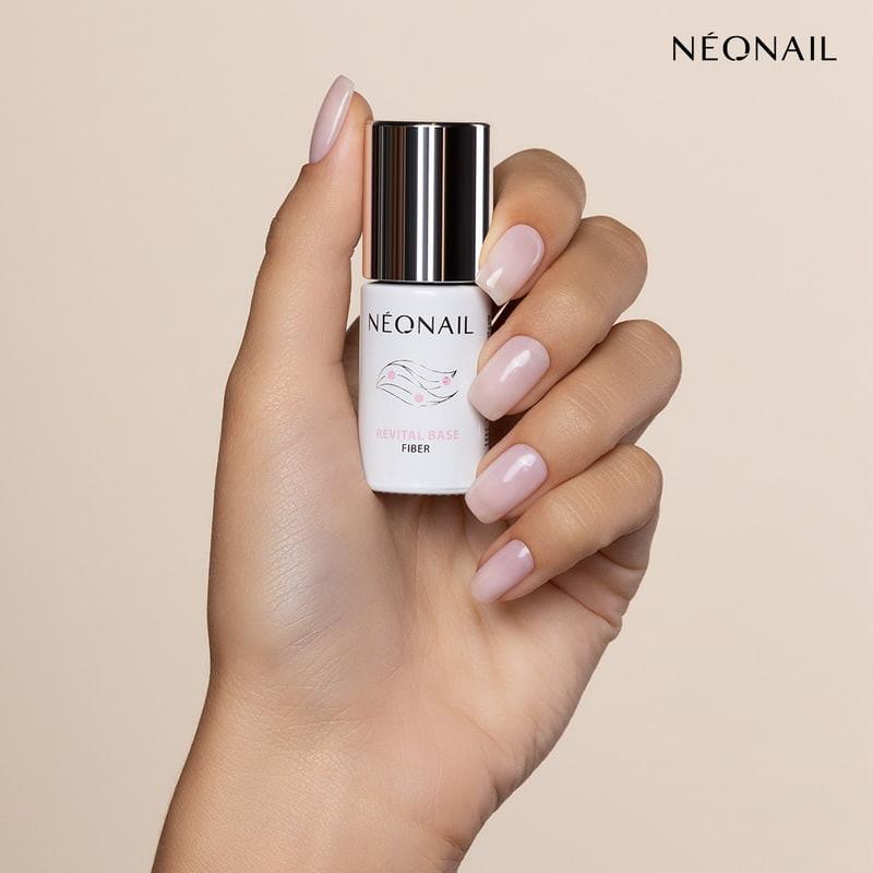 Gél lak NeoNail® podkladový Revital Base Fiber Creamy Splash 7,2 ml NechtovyRAJ.sk - Daj svojim nechtom všetko, čo potrebujú