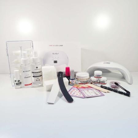 Luxusná gélová štartovacia sada Professionail s 18/36W UV-LED lampou NechtovyRAJ.sk - Daj svojim nechtom všetko, čo potrebujú