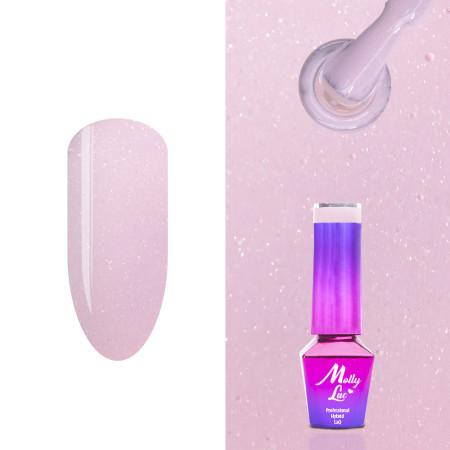 473. MOLLY LAC gél lak - Macarons Pink Sugar 5ml