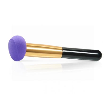 Kozmetická hubka s rúčkou na make up fialová NechtovyRAJ.sk - Daj svojim nechtom všetko, čo potrebujú