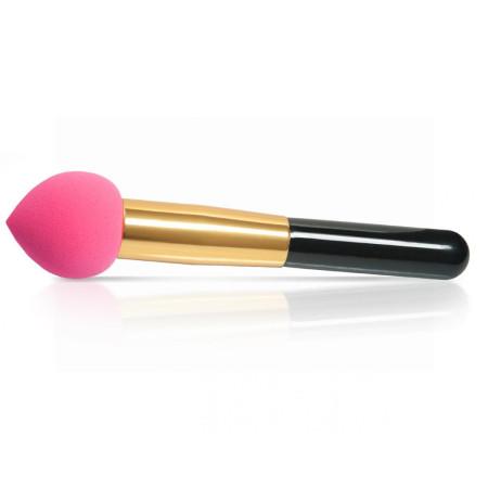 Kozmetická hubka s rúčkou na make up ružová NechtovyRAJ.sk - Daj svojim nechtom všetko, čo potrebujú
