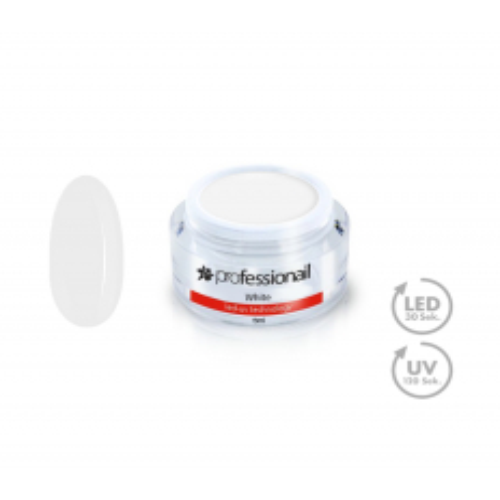 FAREBNÝ LED-UV GÉL 5ML PROFESSIONAIL™ White NechtovyRAJ.sk - Daj svojim nechtom všetko, čo potrebujú