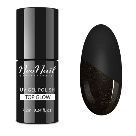 Neonail - Top Glow Gold 7,2 ml NechtovyRAJ.sk - Daj svojim nechtom všetko, čo potrebujú