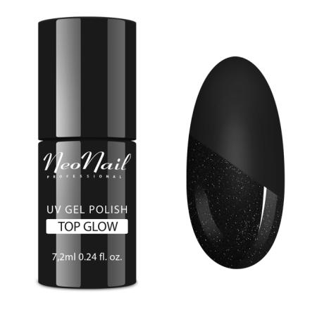 Neonail - Top Glow Silver 7,2 ml NechtovyRAJ.sk - Daj svojim nechtom všetko, čo potrebujú