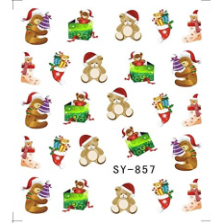 Vianočná vodolepka X-mas SY-857