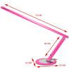 Profesionálna stolová lampa slim ružová 20W NechtovyRAJ.sk - Daj svojim nechtom všetko, čo potrebujú