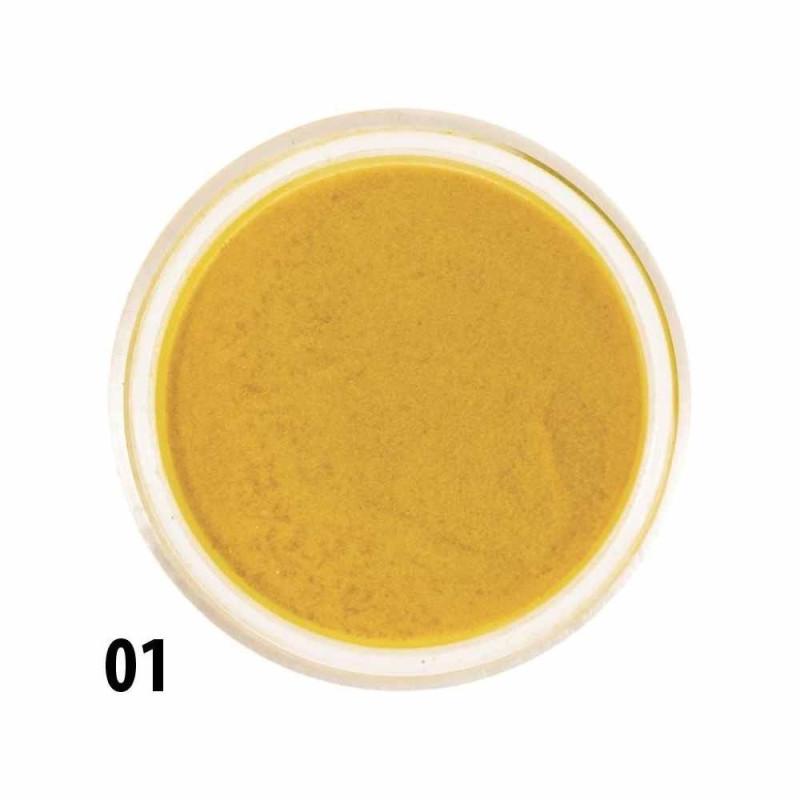 Akrylový prášok 01 žltý NechtovyRAJ.sk - Daj svojim nechtom všetko, čo potrebujú