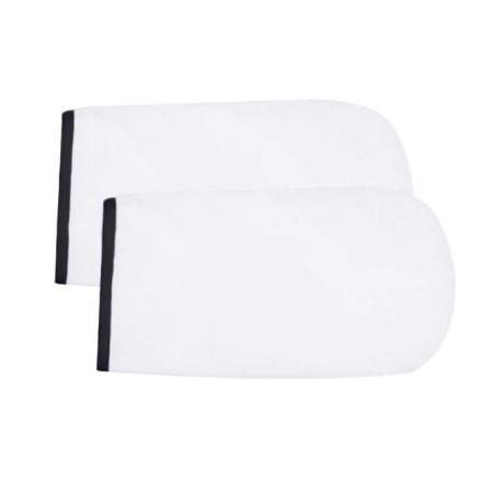 NeoNail rukavice Terry - biele s čiernym lemovaním NechtovyRAJ.sk - Daj svojim nechtom všetko, čo potrebujú