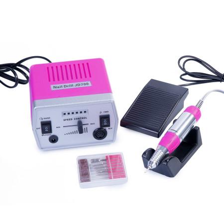 Elektrická brúska na nechty JD 700 ružová 40W NechtovyRAJ.sk - Daj svojim nechtom všetko, čo potrebujú