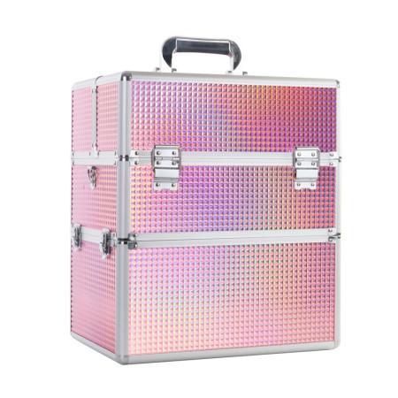 Kozmetický kufrík na lampu XXL De Luxe K105-9H NechtovyRAJ.sk - Daj svojim nechtom všetko, čo potrebujú