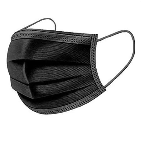 Ochranné kozmetické rúško - čierne 1 ks NechtovyRAJ.sk - Daj svojim nechtom všetko, čo potrebujú