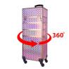 Kozmetický kufrík XXXL 4 v 1 ružovo zlatý NechtovyRAJ.sk - Daj svojim nechtom všetko, čo potrebujú