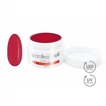 FAREBNÝ LED-UV GÉL 5ML PROFESSIONAIL™ DEEP RED