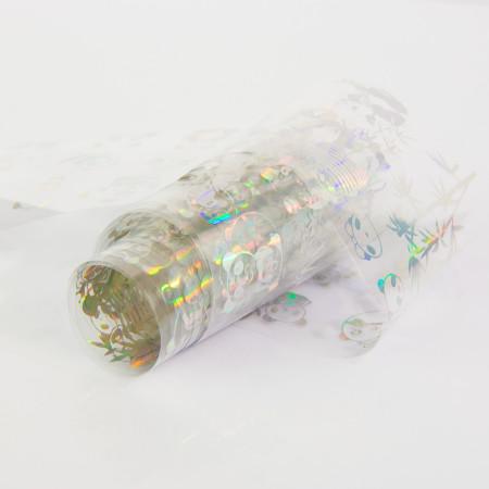 Transfér fólia holografická 10-3 100cm NechtovyRAJ.sk - Daj svojim nechtom všetko, čo potrebujú