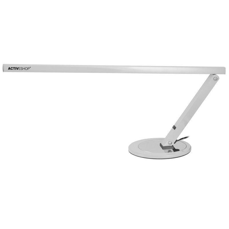 Profesionálna stolová lampa slim strieborná 20W NechtovyRAJ.sk - Daj svojim nechtom všetko, čo potrebujú