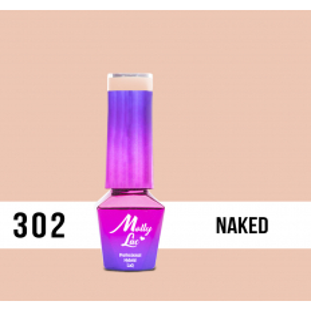 302. MOLLY LAC gél lak - Naked 5ml